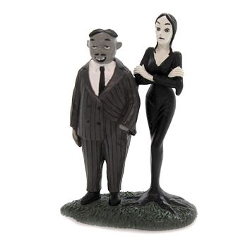 Department 56 Accessory GOMEZ AND MORTICIA Polyresin Charles Addams 6002949