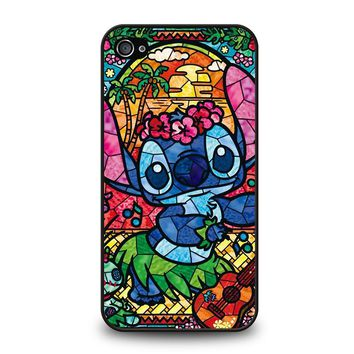LILO & STITCH STAINED GLASS iPhone 4 / 4S Case
