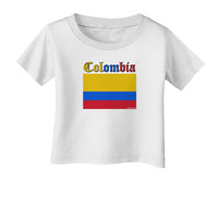 Colombia Flag Infant T-Shirt