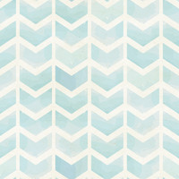Removable Wallpaper - Faded Blue Chevron
