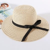 Streetstyle  Casual Sun Straw Boho Hat
