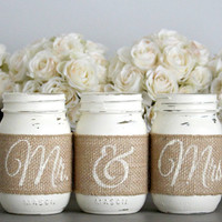 Rustic Wedding Table Decor,Rustic Bridal & Engagement Gift