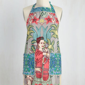 Paint Me a Picture Apron | Mod Retro Vintage Kitchen | ModCloth.com