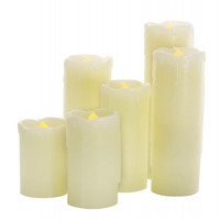 Flameless LED 6 Piece Candle Set