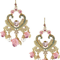 FAIRYLAND ROSE CHANDELIER EARRING