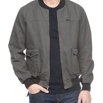 True Religion Mens Bomber Jacket - Skyline
