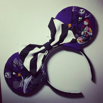 Nightmare Before Christmas Mouse Ears