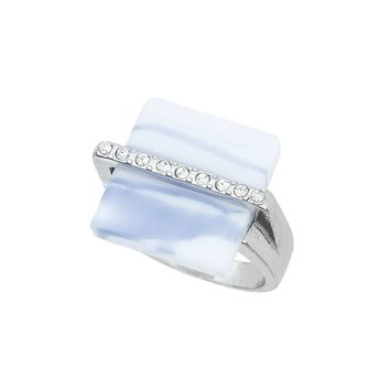 Square Marble Ring | Missselfridge