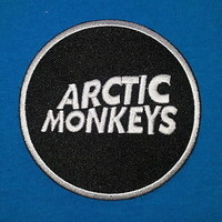 ARCTIC MONKEYS ENGLISH INDI ROCK BAND Embroidered Easy Iron Patch W/ Free Ship