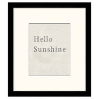 Hello Sunshine Framed Art