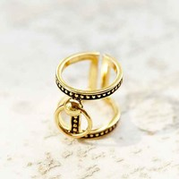 Luv Aj Fire Cross Ring-