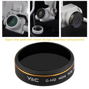 ND Filter For DJI For Phantom 4 PRO Multilayer Coating ND Filter Accessories Optical Glass Aluminum Alloy Frame Drop Shipping