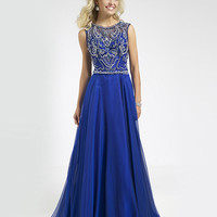 Jovani Royal Prom Dress 78146 - Prom Dresses