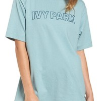 IVY PARK® Silicone Logo Tee | Nordstrom