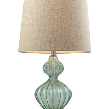 Elk Lighting Smoked Glass Table Lamp - Table Lamps at Hayneedle