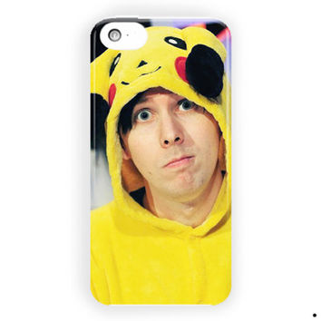 Phil Lester Youtuber Cute Music For iPhone 5 / 5S / 5C Case