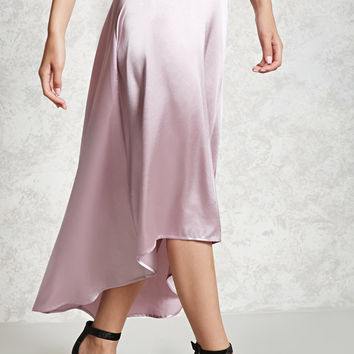 Contemporary Satin Skirt