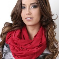 Pleasure Avenue Infinity Scarf