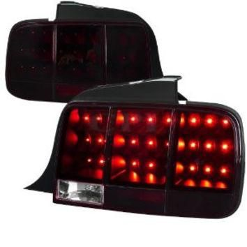 Ford Mustang Sequential Led Taillights - Red/Smk Performance Conversion Kit