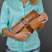 Stylish handmade leather clutch bag design beautiful handbag fashion trends