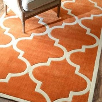Rugs USA Keno Trellis Copper Rug