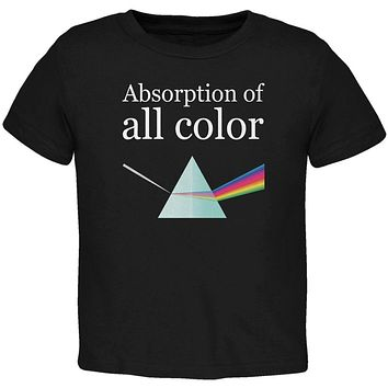 Halloween Science Absorption of Color Costume Toddler T Shirt