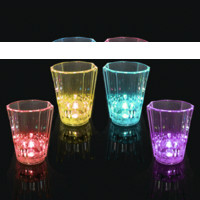 Color Changing LED Shot Glass (Set of 4)