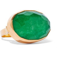 Katerina Makriyianni - Gold-plated jade ring