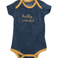 IMPS & ELFS Hello World Bodysuit - Blue -