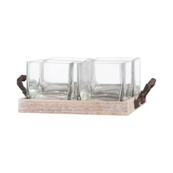 Campagne 4 Server Rustic,Ashwood,Clear