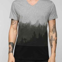 Tee Library Ombre Forest Tee- Grey S