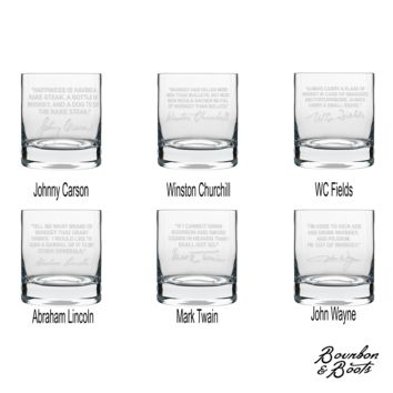 Whiskey Lovers Engraved Personalized Whiskey Glasses Best Sellers