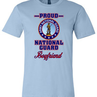 Proud National Guard Boyfriend Unisex T-Shirt