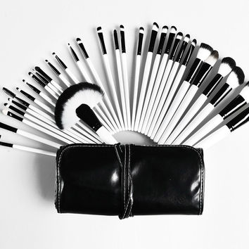 Makeup Brushes Set Powder Foundation Eye shadow Lip Brush(32pcs Lot)