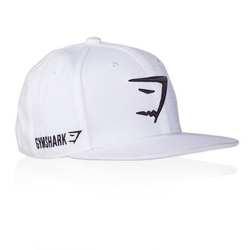 GymShark Fit Snapback - White Accessories | GymShark International | Innovation In Fitness Wear