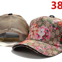 Gucci Floral Embroidered Hat Baseball Cap Hat