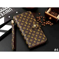 LV & GUCCI & Burberry Tide brand lanyard iPhone6 flip phone case cover #4