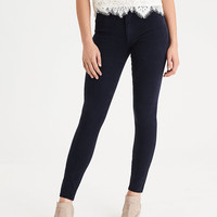 AEO Denim X4 Hi-Rise Jegging, Rich Navy