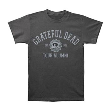 Grateful Dead Men's  Tour Alumni T-shirt Grey