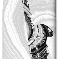 Marbled Music Art - Saxophone - Sharon Cummings IPhone 6s Case