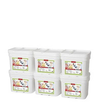 2160 Serving Freeze Dried Foods Survival Emergency Storage Bucket- Lindon Farms