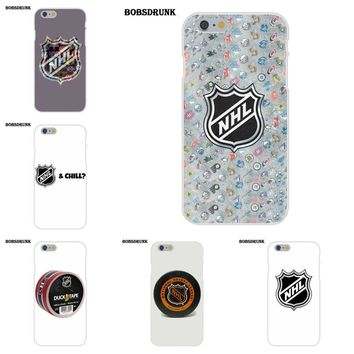 Soft TPU Mobile Case For Apple iPhone X 8 7 6S 6 SE 5C 5S 5 4S 4 Plus For iPhone X 4 4S 5 5C SE 6 6S 7 8 Plus Nhl Hockey Puck