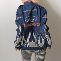 ford embroidered racer jacket
