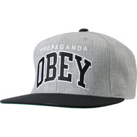 Obey Throwback Chambray Snapback Hat