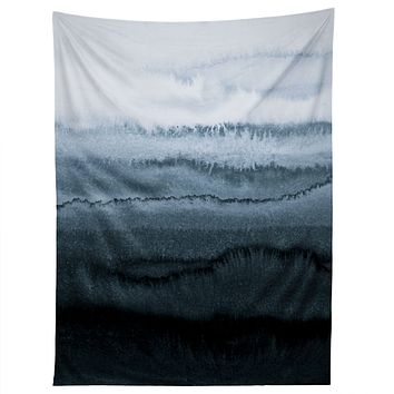 Monika Strigel WITHIN THE TIDES STORMY WEATHER GREY Tapestry