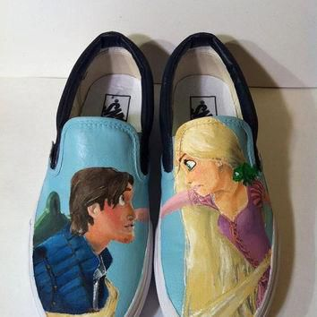 Tangled - Custom Painted Vans/Keds/Converse ETC.