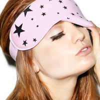 Wildfox Couture Disco Star Eyemask Ghost Pink One