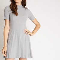 Yanni Mock Neck Swing Dress | Ruche