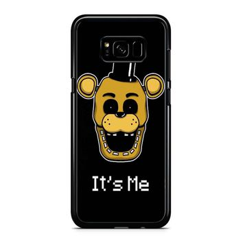 Five Nights At Freddy Fnaf Golden Freddy It S Me Samsung Galaxy S8 Plus Case