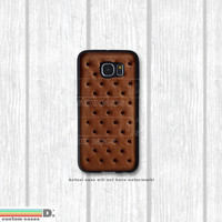 Ice Cream Sandwich, Phone Case for Galaxy S4, S5, S6